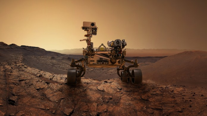Mars Perseverance Rover Mission