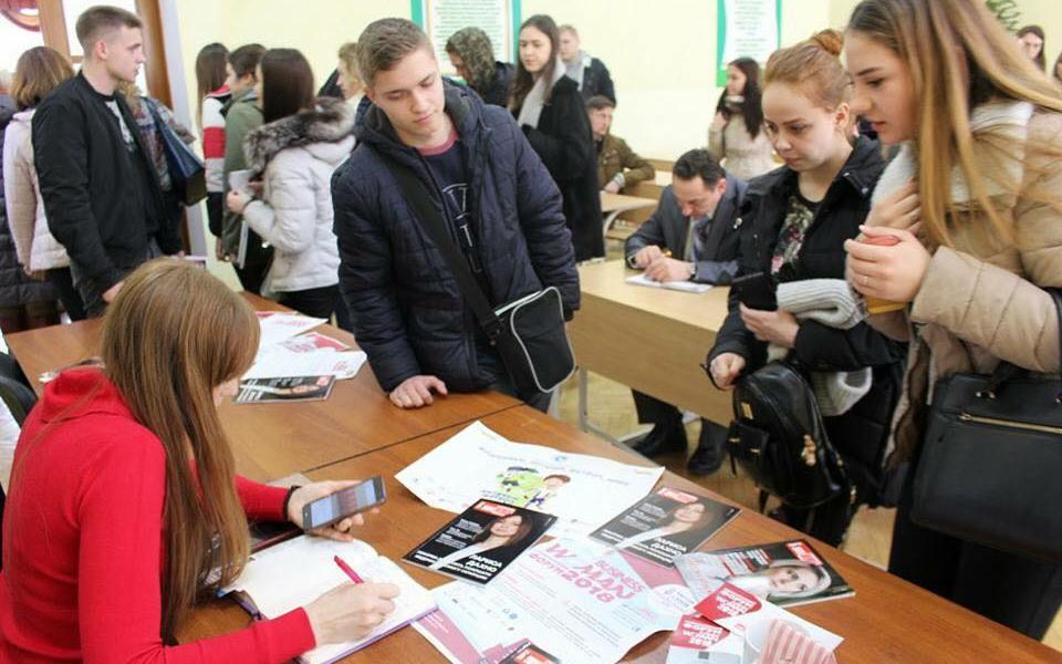 Ганна Крисюк поділилась досвідом з київськими студентами