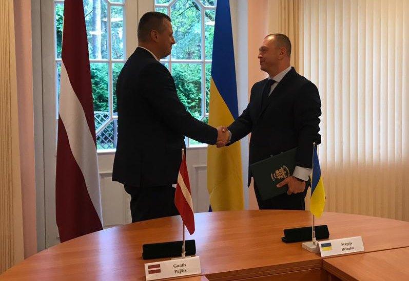 Голова Держприкордонслужби України з робочою поїздкою перебуває в Латвійській Республіці