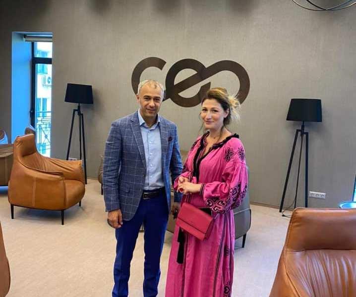 Еміне Джапарова в гостях у СЕО Club Ukraine