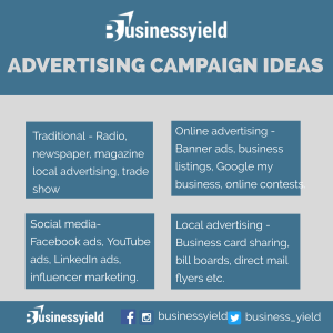 Advertising campaign ideas