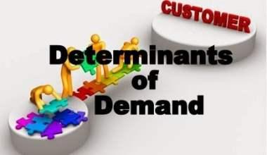 determinant of demand