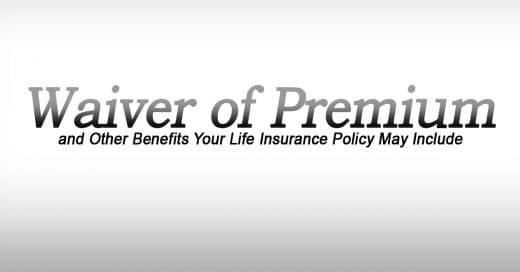 waiver of premium