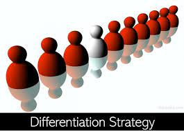 differentiation strategy focused broad examples marketing types advantages PDF