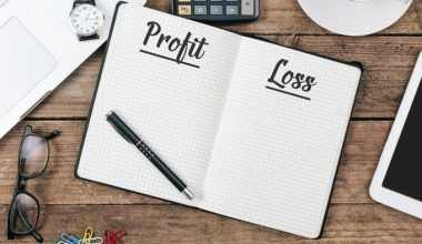 Profit and loss statement templates