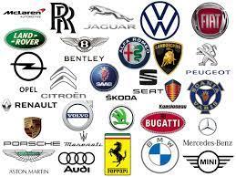 European brands car logo