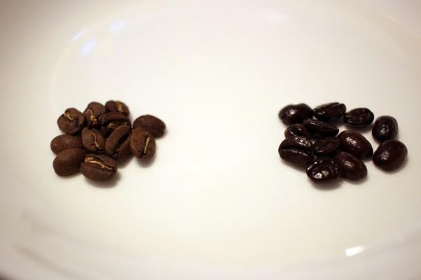 コーヒー豆比較