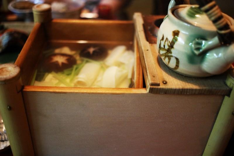 俵屋の湯豆腐