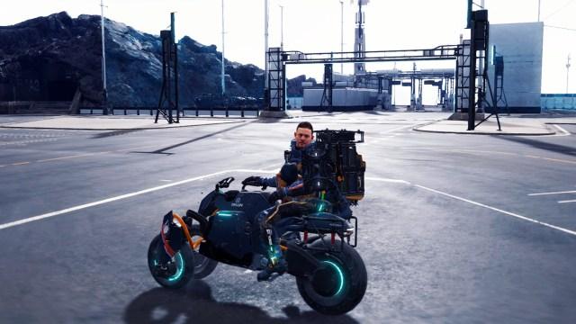 デスストのバイクについて
