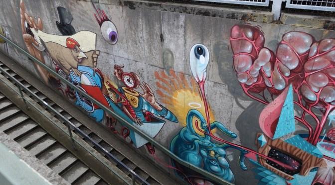 München mal anders – Graffiti am Botanischen Garten
