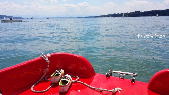 Summer must do! Tretbootfahren