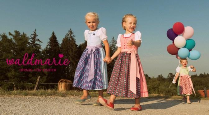 Waldmarie – Kinderdirndl made in Bavaria