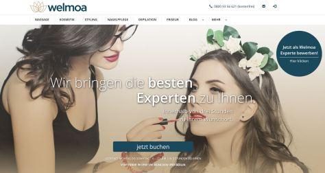 Welmoa Styling über Webseite