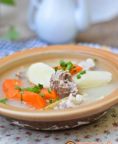胡蘿蔔山藥羊肉湯冬日滋補湯水 愛食網 胡蘿蔔山藥羊肉湯冬日滋補湯水