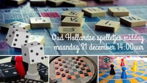Oud Hollandse spelletjes middag