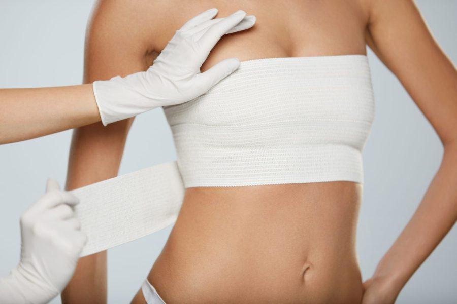 mellnagyítás a fogyás előtt és után