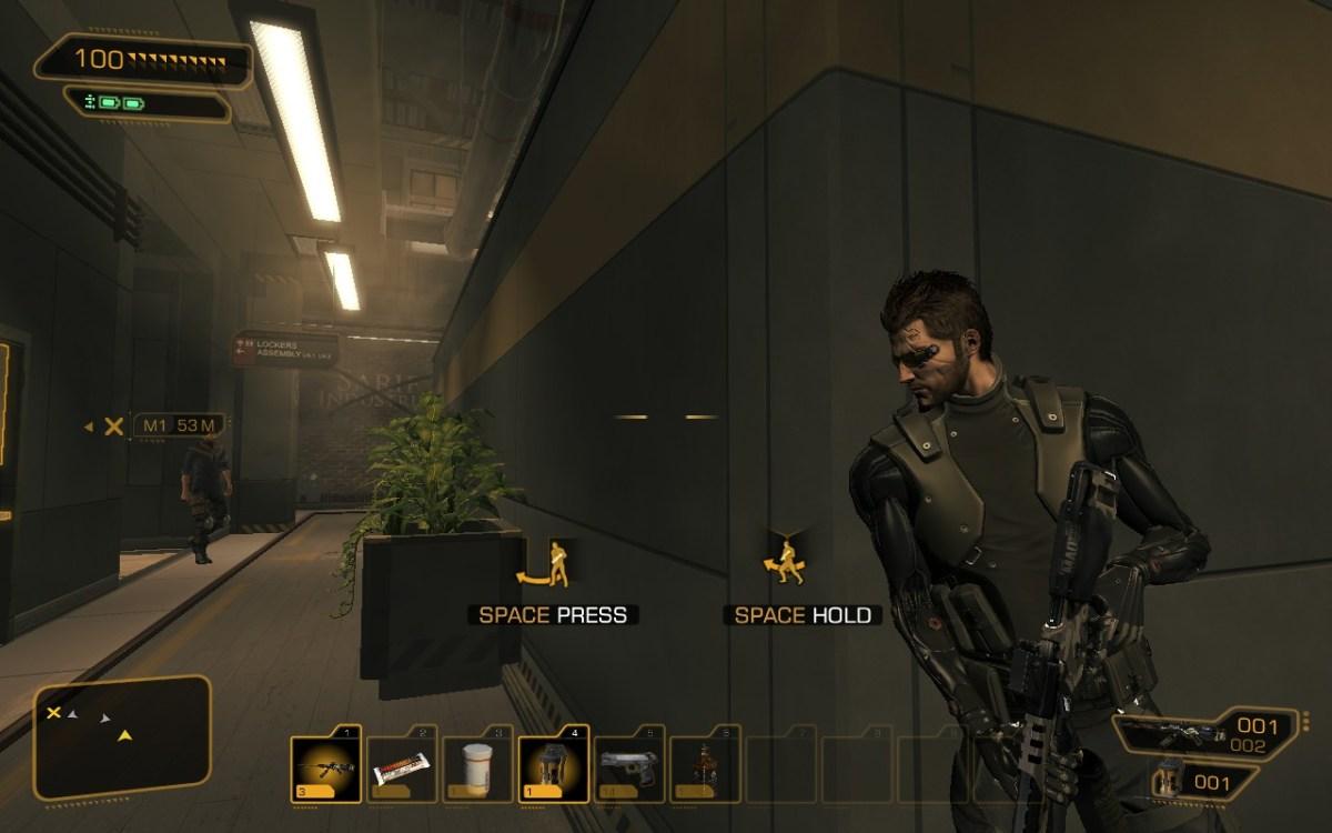 Deus Ex HR Cover