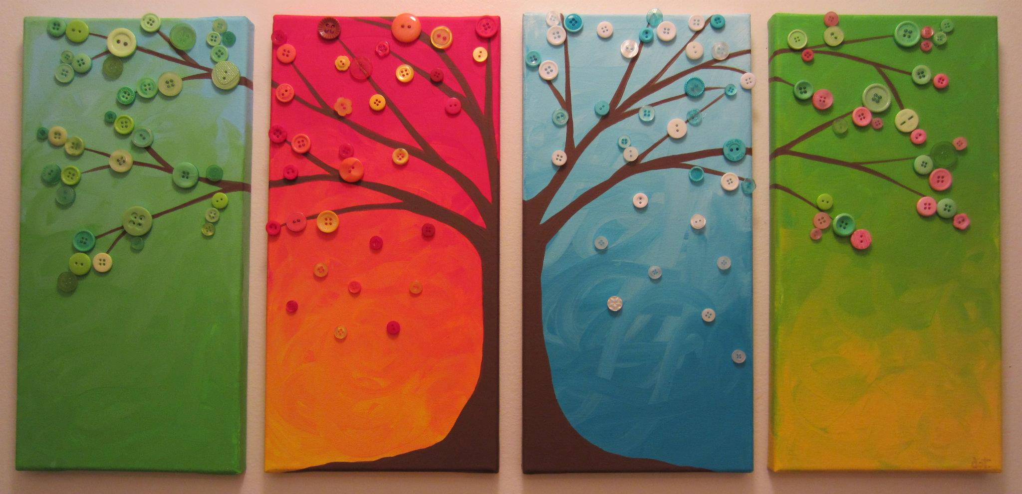 Giveaway Win A Four Seasons Button Tree