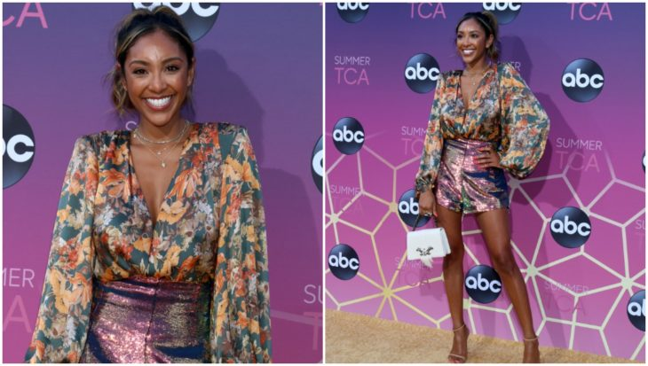 LOS ANGELES - AUG 15: Tayshia Adams at the ABC Summer TCA All-Star Party at the SOHO House on August 15, 2019 in West Hollywood, CA
