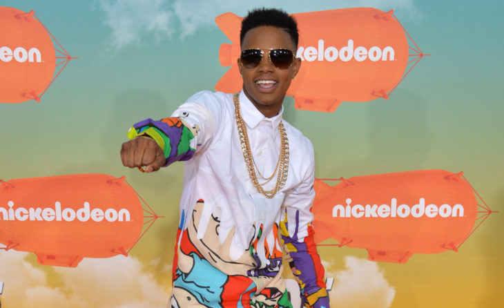 LOS ANGELES, CA - MARCH 12, 2016: Musician Silento at the 2016 Kids' Choice Awards at The Forum, Los Angeles.