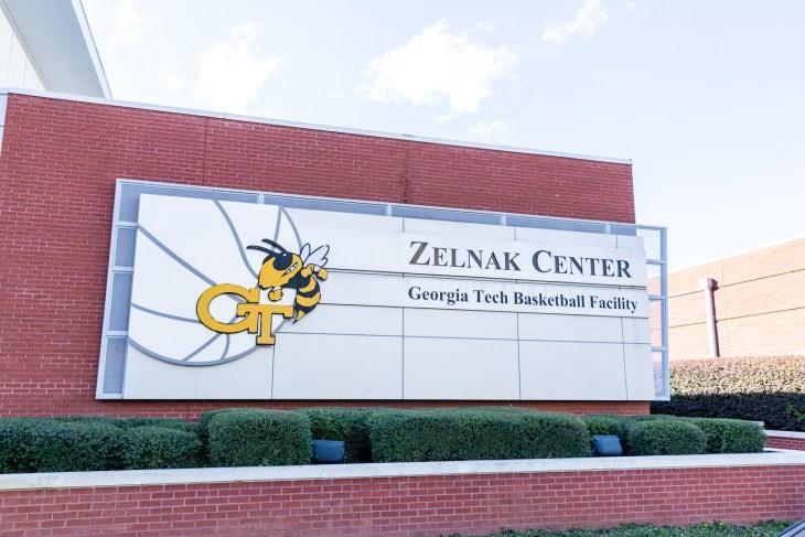 Atlanta, GA / USA - October 29 2020: Zelnak Center for Georgia Tech Basketball