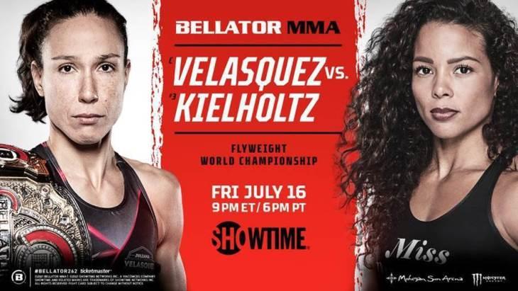 bellator 262 poster
