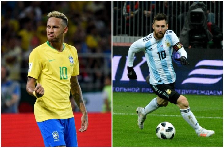 neymar messi copa america final
