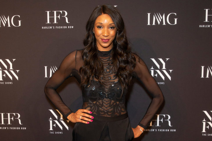 New York, NY - February 6, 2019: Maria Taylor attends IMG and Harlem Fashion Row Host Next Of Kin: An Evening Honoring Ruth Carter at Spring Studios