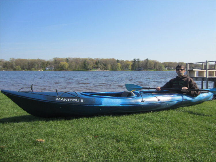 Necky Manitou II - Kayak Review   Busted Wallet