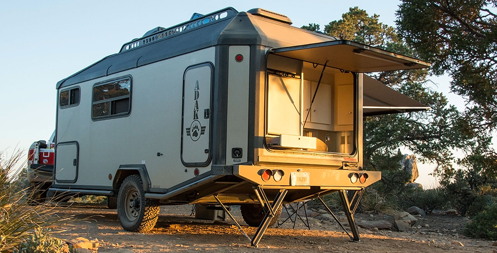ADAK Adventure Trailers First Look Busted Wallet