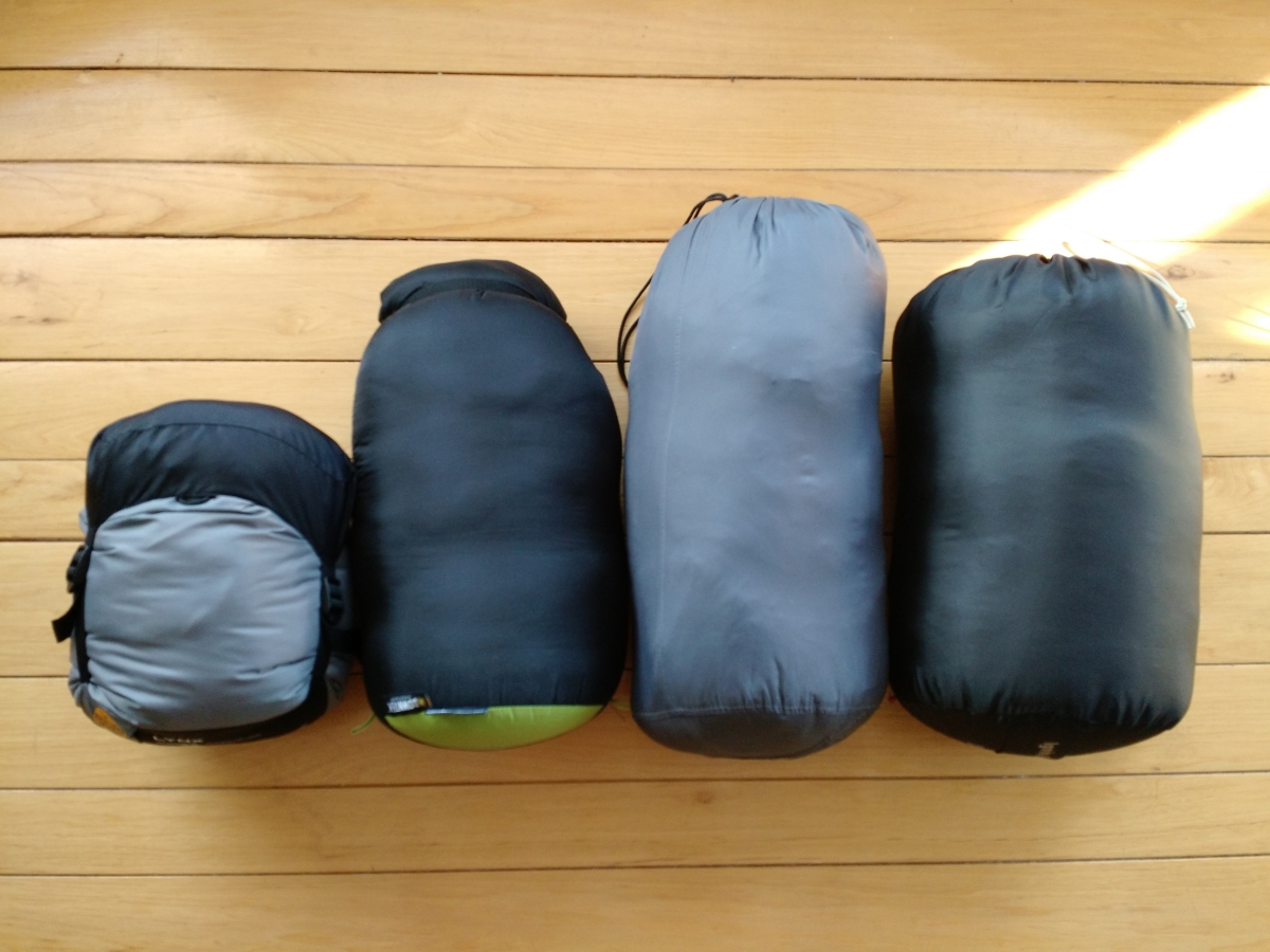 From Left To Right North Face Lynx 30 Degree Down Bag 20
