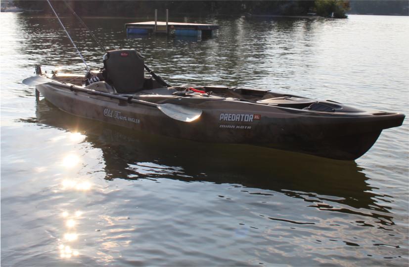 Predator XL Minn Kota - Kayak Review | Busted Wallet