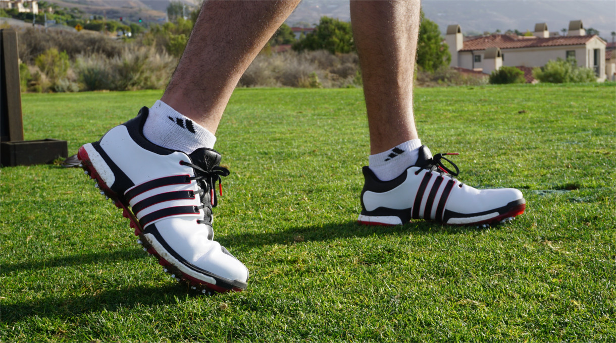 eacbde57dc55 The design and launch of the TOUR360 BOOST has been Adidas Golf s longest  product development in the brand s history. Totaling 14 months overall