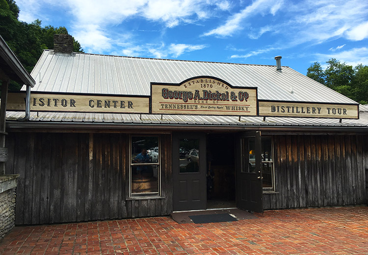 George Dickel Distillery Visitors Center - BustedWallet.com