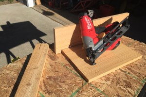 Milwaukee M18 Nailer