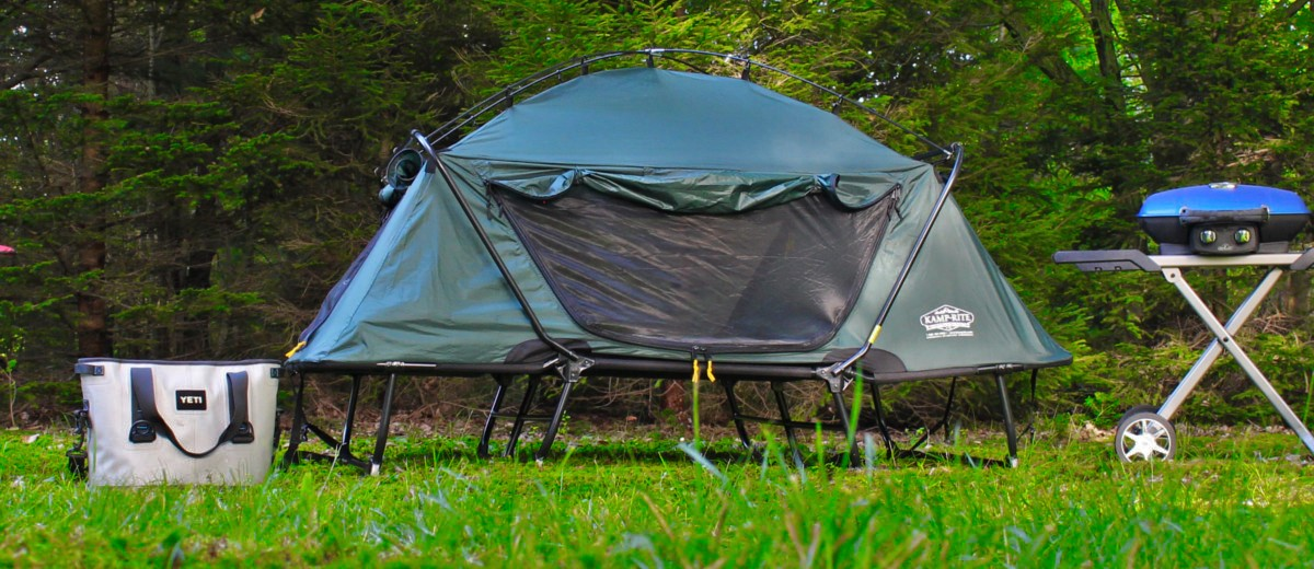 K&-Rite Tent Cot u2013 Gear Review & Kamp-Rite Tent Cot - Gear Review | Busted Wallet