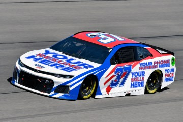 Monster Energy NASCAR Cup Series Pennzoil 400 Las Vegas Motor Speedway, Las Vegas, NV USA Sunday 4 March 2018 Chris Buescher, JTG Daugherty Racing, Chevrolet Camaro Natural Light World Copyright: Nigel Kinrade NKP
