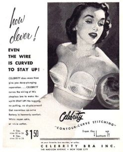A different style of bra that featured a wire designed to rest above the breast to provide lift.