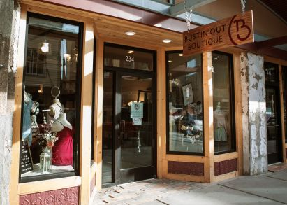 Find Bustin' Out Boutique on Front Street in Downtown Juneau
