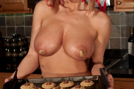 nikki sims betty crocker big tits busty tease plaid messy