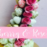 Adult Strawberry & Rose Tower