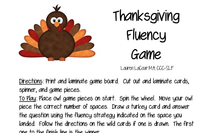 Thanksgiving Games & a Giveaway!!