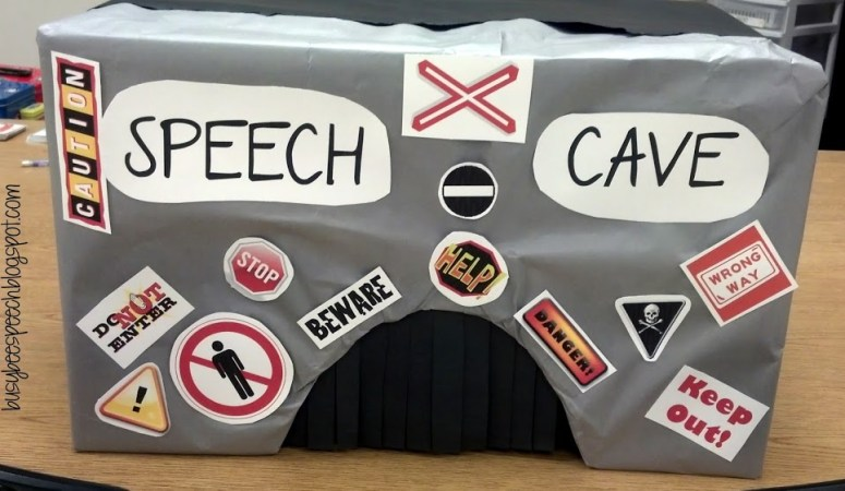 DIY Speech Cave!