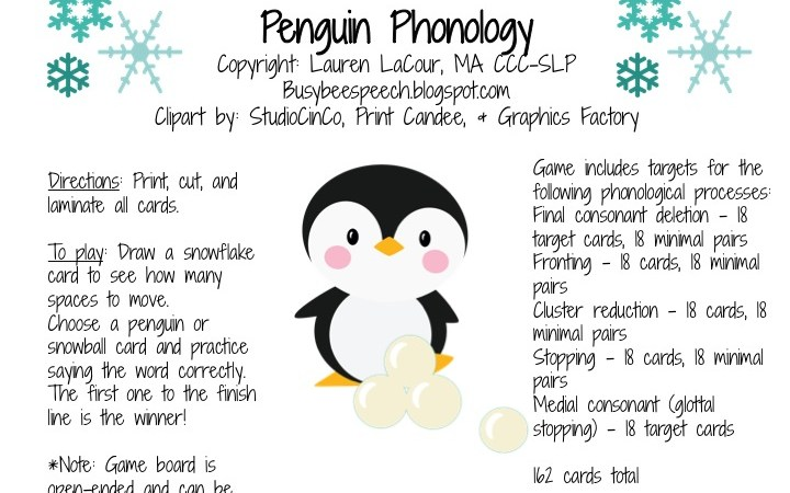 Penguin Phonology!