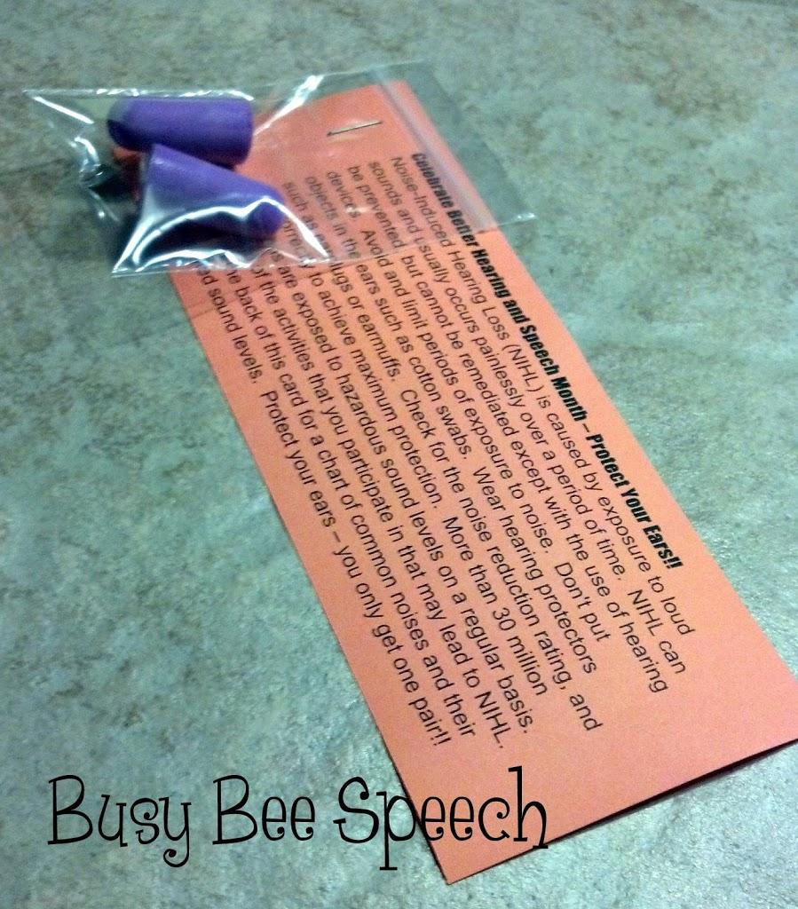 Bhsm Is Here With A Freebie Busy Bee Speech