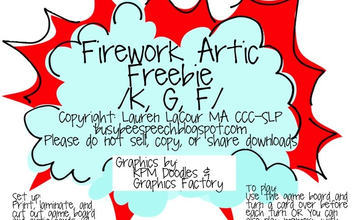 Firework Artic FREEBIE!