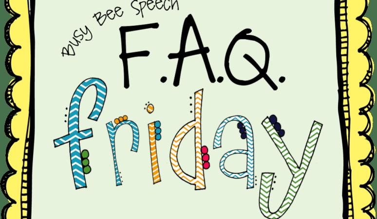 FAQ Friday: Late Talkers