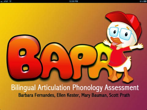 App Review: Bilingual Articulation & Phonology Assessment (BAPA)