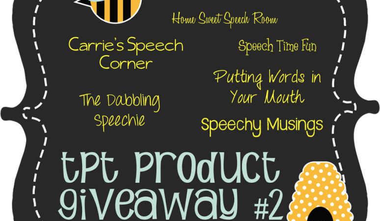 TPT Product Giveaway Pack #2!