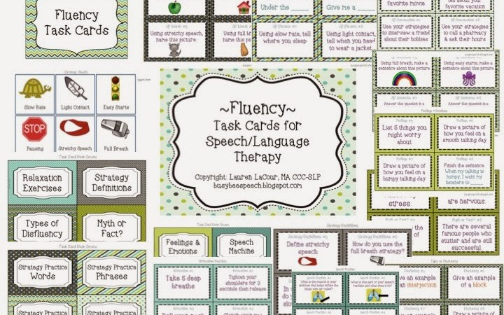 Fluency Task Cards & a {giveaway}